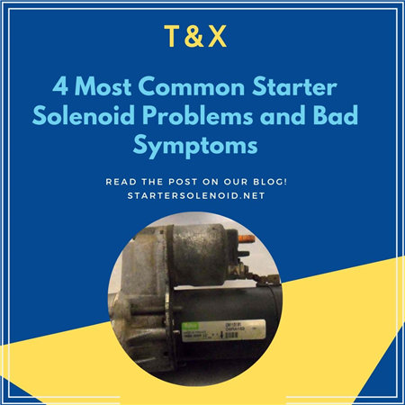 4 Most Common Starter Solenoid Problems And Bad Symptoms - T&X  Post Solenoid Wiring Diagram Brigs And Stratton on