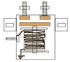starter-relay-structure