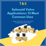 Solenoid Valve Most Common Applications Banner