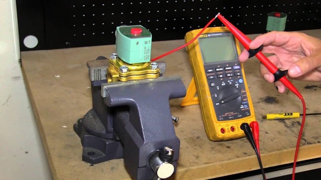 Troubleshooting a Solenoid Valve